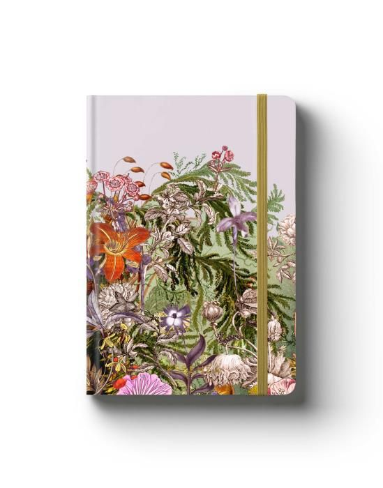 Essenza Annelinde Lilac Notebook A5
