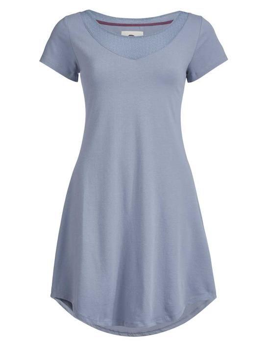 Essenza Arine Faded Blue Nightdress short sleeve XS
