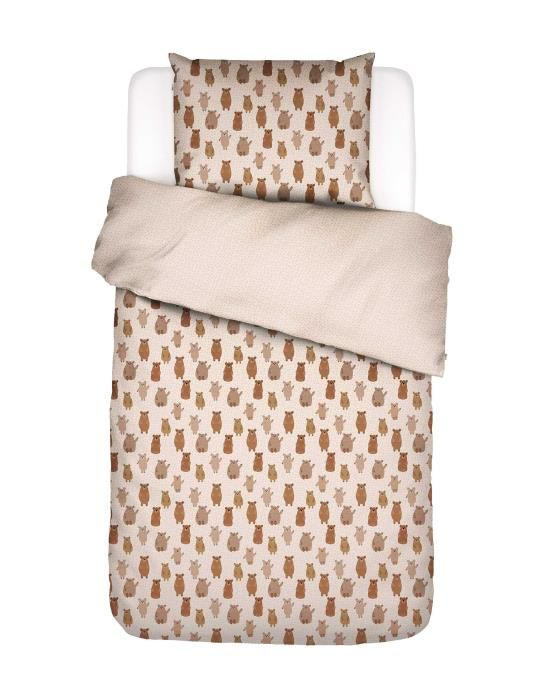 Covers & Co Beary much Brown Duvet cover 135 x 200