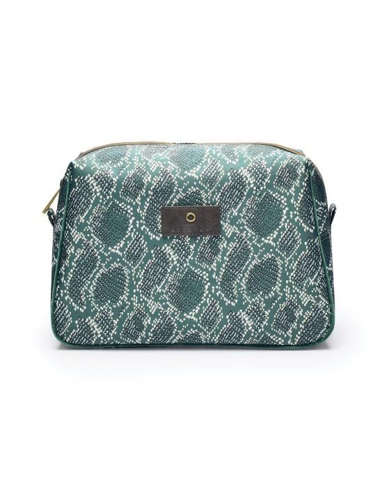 Essenza Carole Solan Green Cosmetic Bag Large