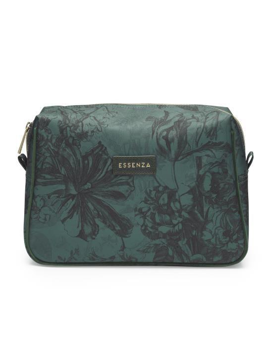 Essenza Carole Vivienne Green Cosmetic Bag Large