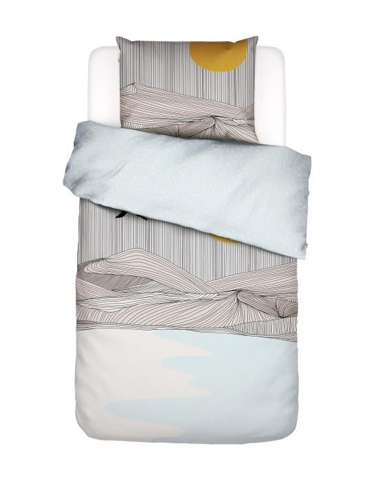 Covers & Co Chase the Sun Neutral Duvet cover 135 x 200