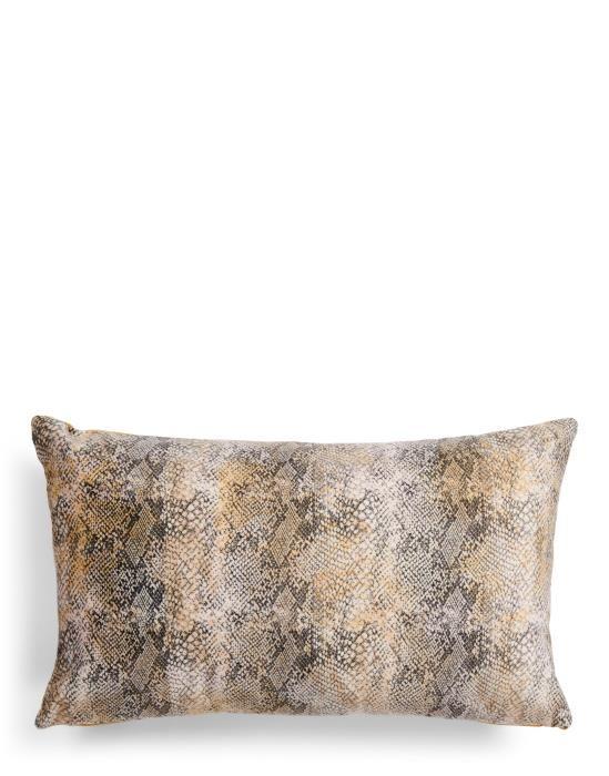Essenza Cleo Mustard Cushion 30 x 50