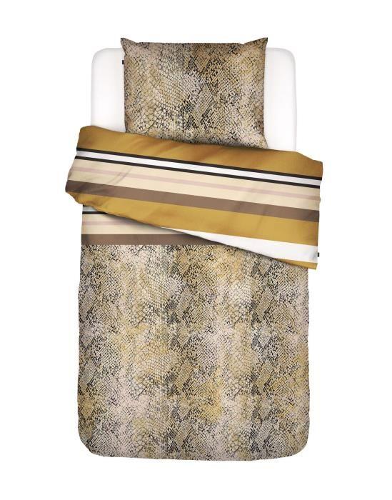 Essenza Cleo Mustard Duvet cover 135 x 200