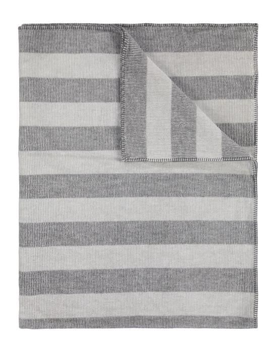 Marc O'Polo Eka Light grey Plaid 150 x 200 cm