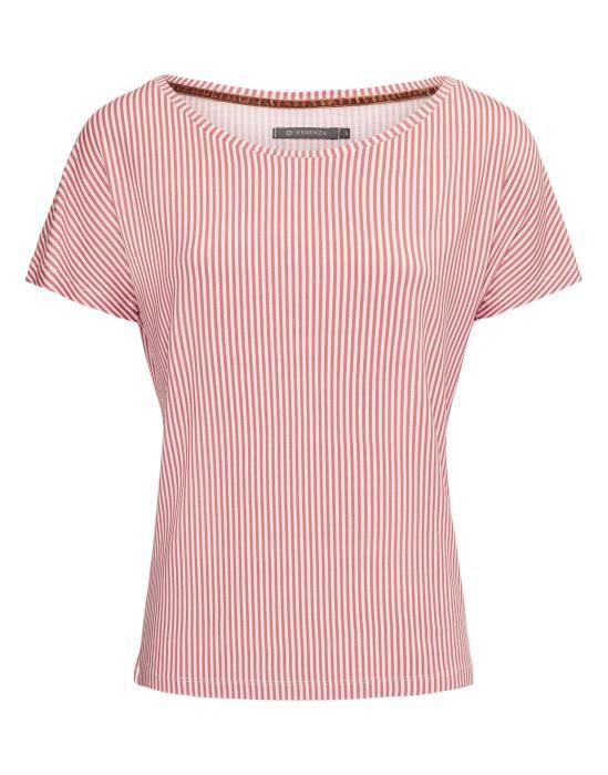 Essenza Ellen Striped Rabarber Top Short Sleeve XS