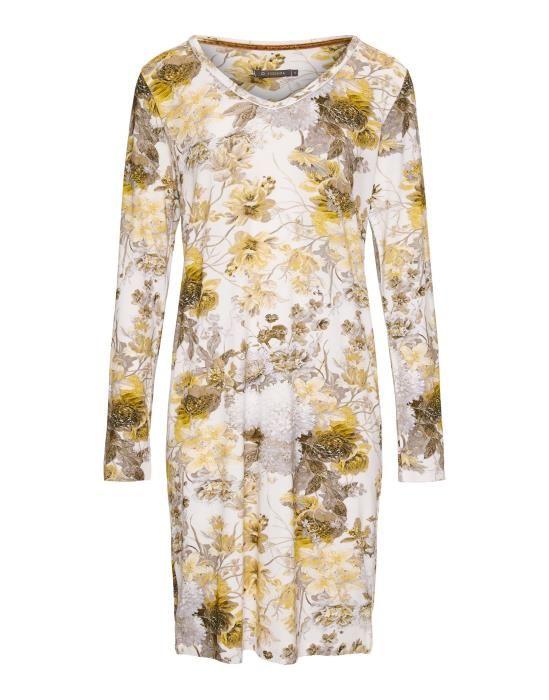 Essenza Emmy Maily Olive Nightdress long sleeve XS