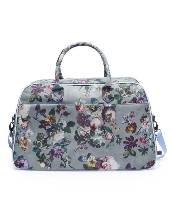 ESSENZA Fay Fleur Faded Blue Weekender bag Large