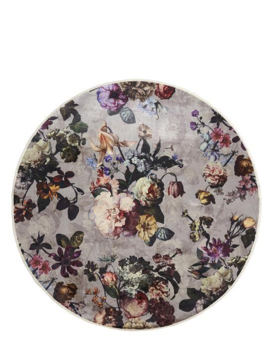 ESSENZA Fleur Finest Grey Carpet 90