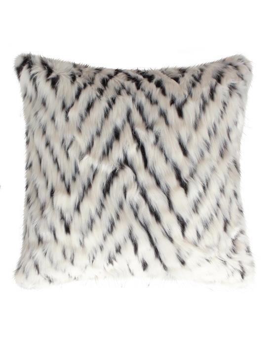 Essenza Fuzzy Ecru Cushion square 50 x 50
