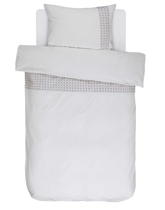 Essenza Hildes White Duvet cover 135 x 200