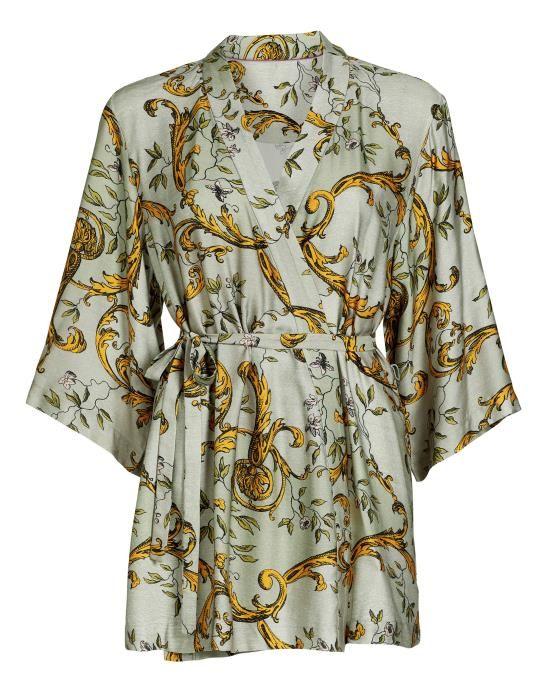 ESSENZA Indy Georgina Green Kimono XS