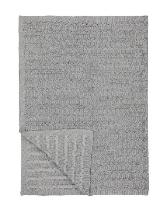 Marc O'Polo Javik Grey Plaid 130 x 170
