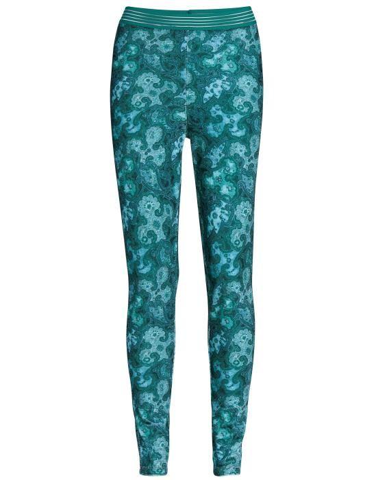 Essenza Jet Paisa Emerald Legging long XS