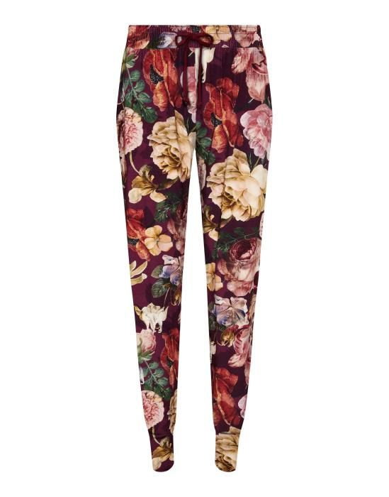 Essenza Jules Claire Cherry Trousers Long XS