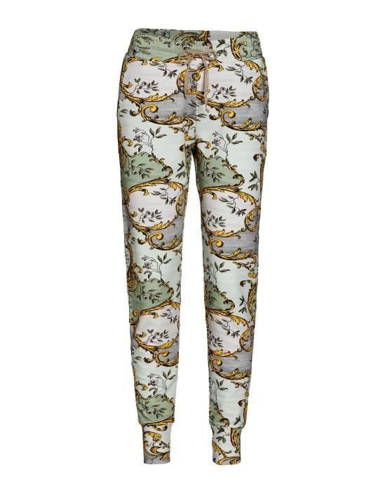 Essenza Jules Georgina Green Trousers Long XS