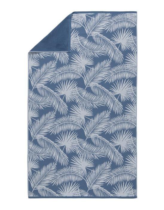 Marc O'Polo Kywa Blue Hammam towel 100 x 180