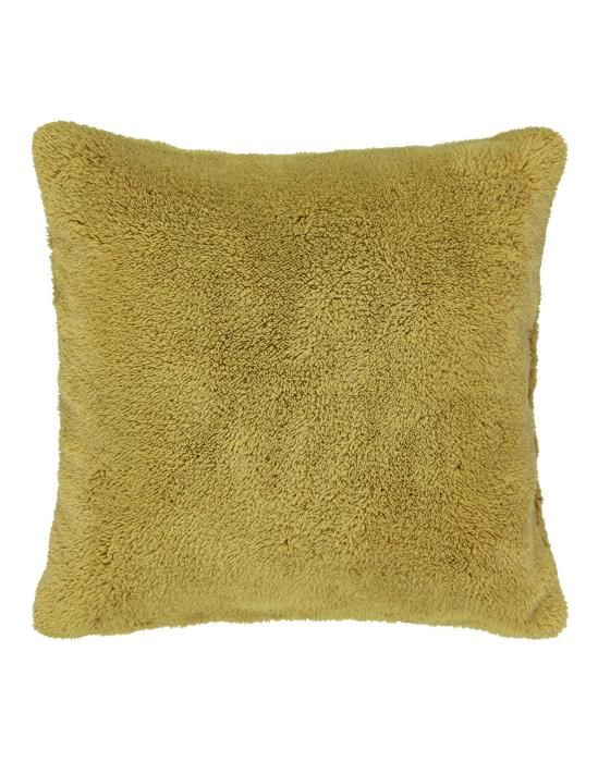 Essenza Lammy Mustard Cushion square 50 x 50