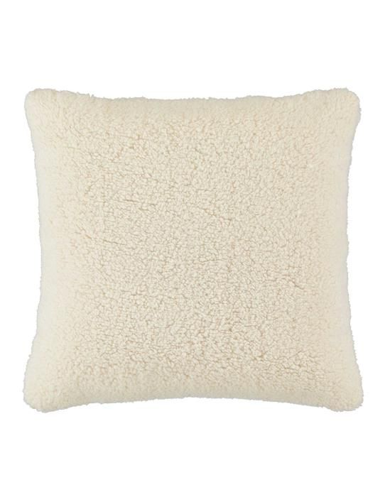 Essenza Lammy White Cushion 50 x 50