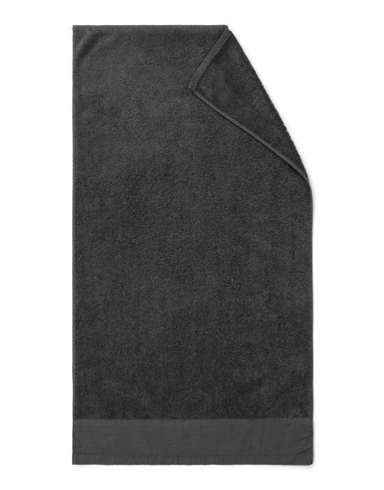 Marc O'Polo Linan Anthracite Towel 50 x 100