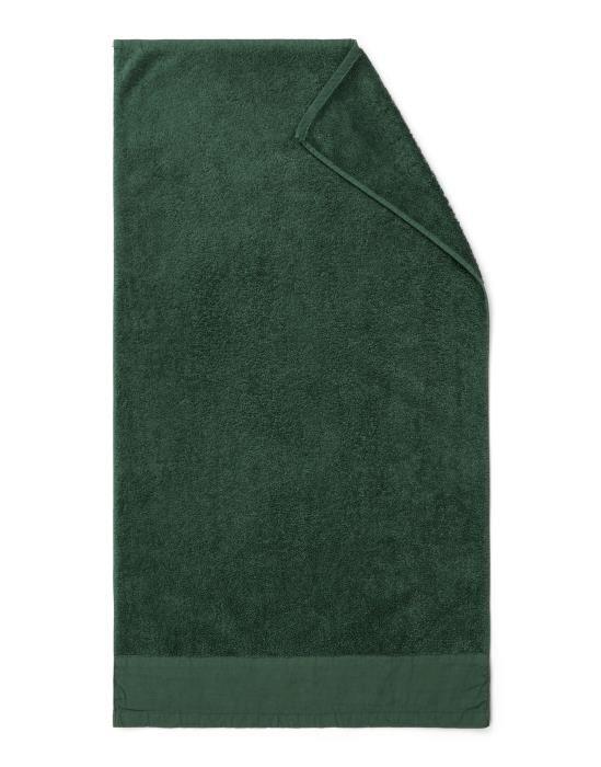 Marc O'Polo Linan Dark Green Towel 50 x 100