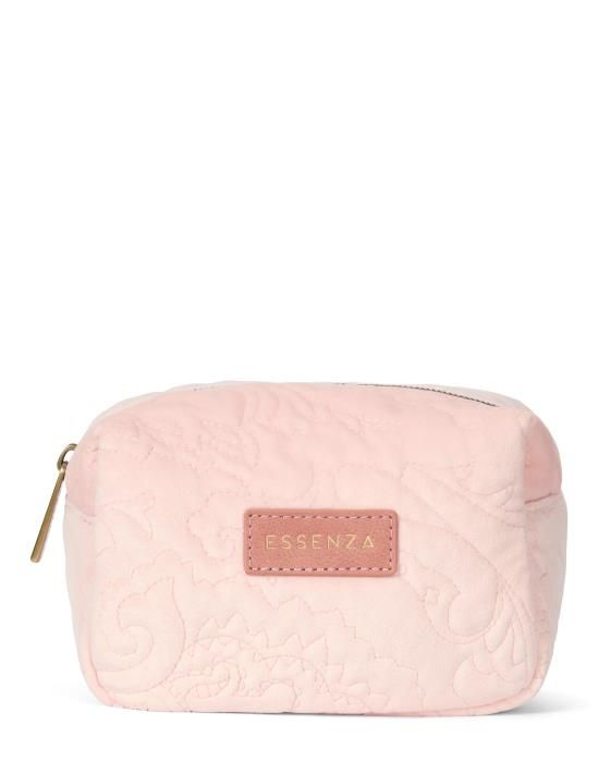 Essenza Lucy Velvet Blush Make-up Bag Small