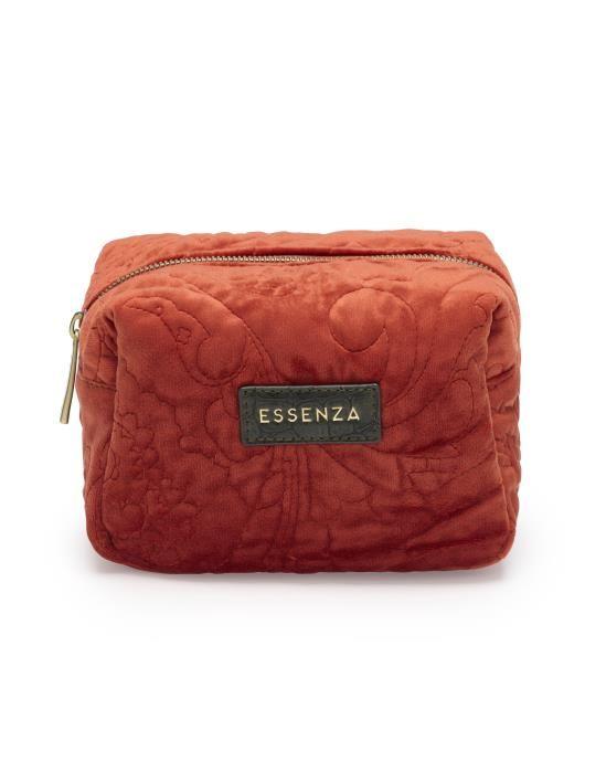 Essenza Lucy Velvet Chili Make-up Bag Small