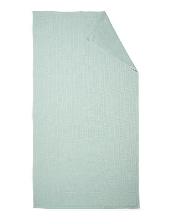 Marc O'Polo Lund Soft green Hammam towel 100 x 180