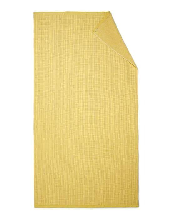 Marc O'Polo Lund Sunrise yellow Hammam towel 100 x 180