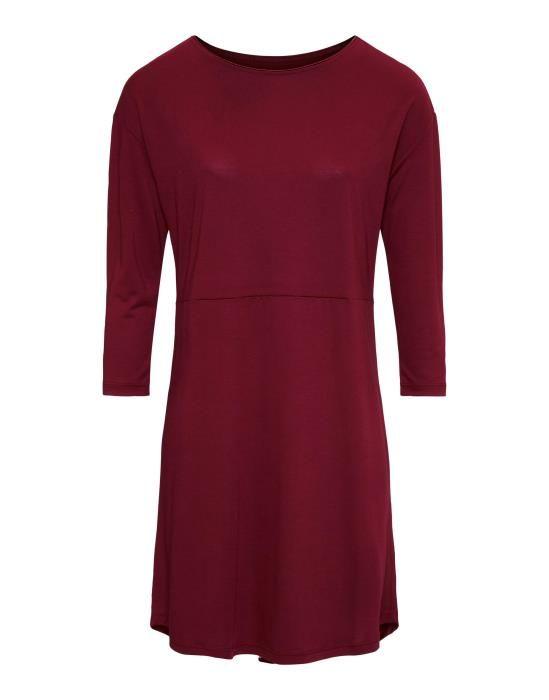 ESSENZA Lykke Uni Cherry Nightdress 3/4 sleeve XS