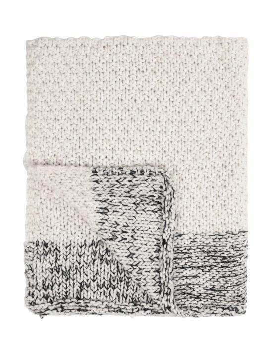 Marc O'Polo Maiku White Plaid 130 x 170