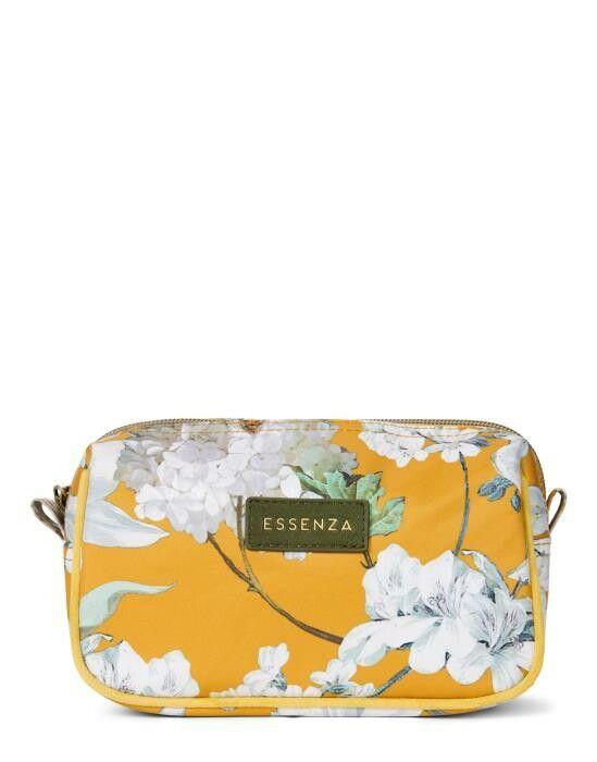 ESSENZA Megan Rosalee Mustard Cosmetic Bag Small