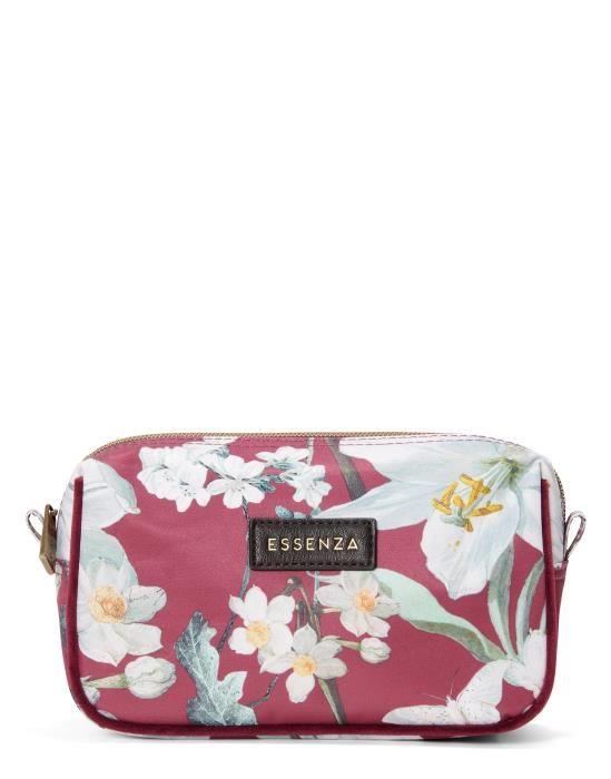 Essenza Megan Rosalee Plum Cosmetic Bag Small