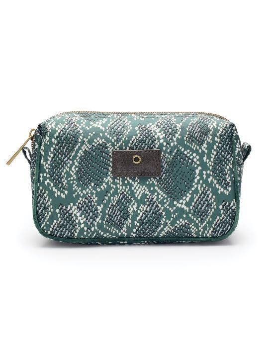 Essenza Megan Solan Green Cosmetic Bag Small
