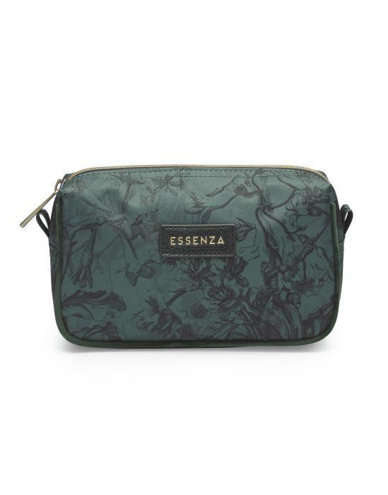 Essenza Megan Vivienne Green Cosmetic Bag Small