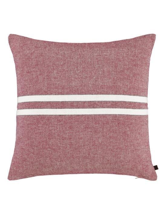 Marc O'Polo Mehla Red Cushion square 50 x 50