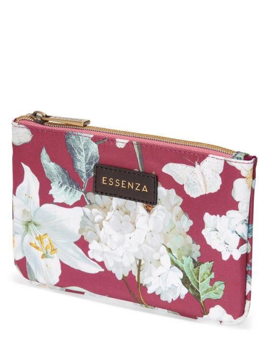Essenza Miley Rosalee Plum Pouch One Size