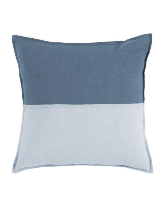 Marc O'Polo Neira Blue Cushion square 45 x 45