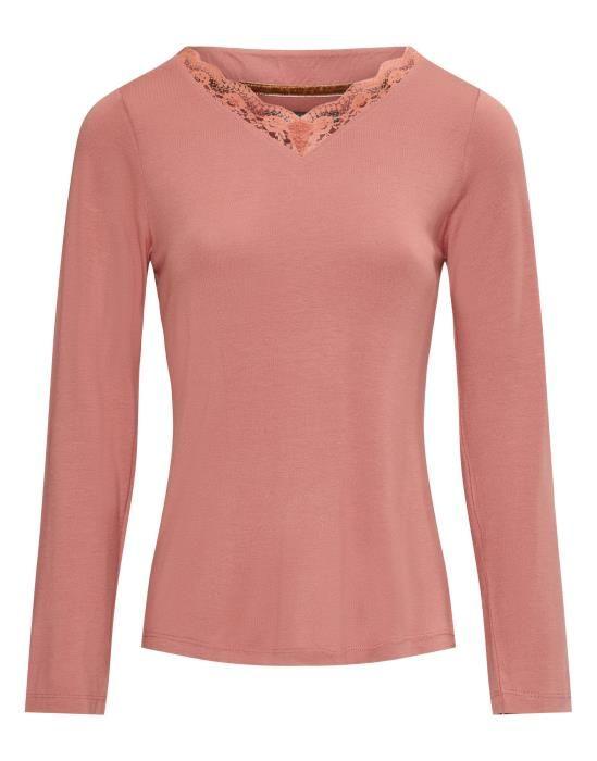 Essenza Noriah Uni Rabarber Top Long Sleeve XS