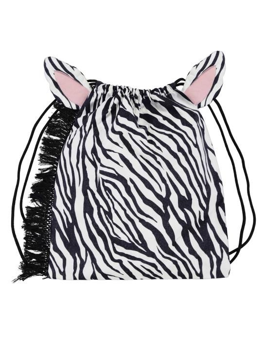 Covers & Co Oryn Black/white Gym Bag One Size