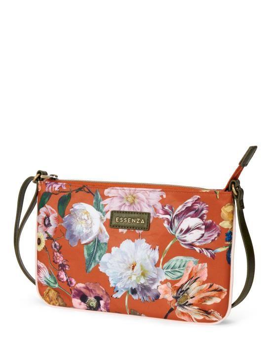 Essenza Paige Filou Caramel Shoulder Bag One Size