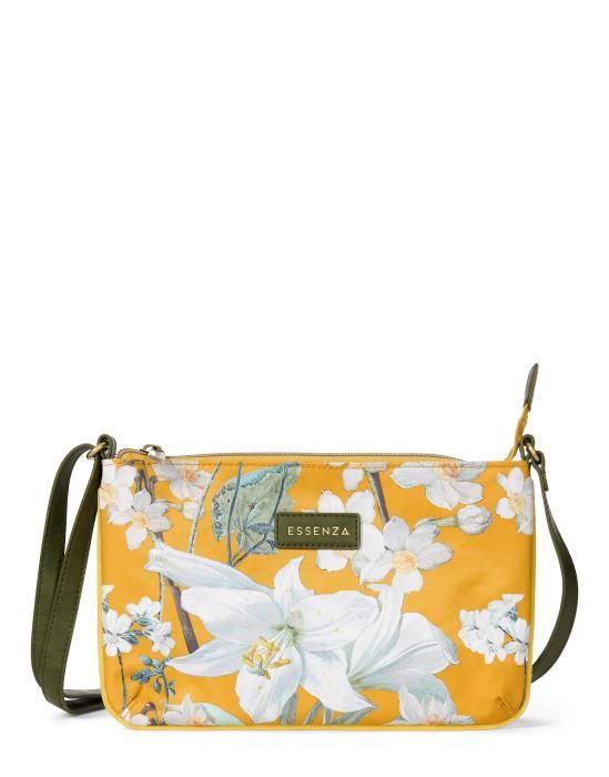 Essenza Paige Rosalee Mustard Shoulder Bag One Size