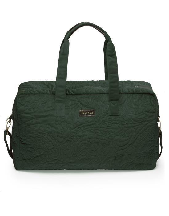 Essenza Pebbles Velvet Green Weekender bag One Size