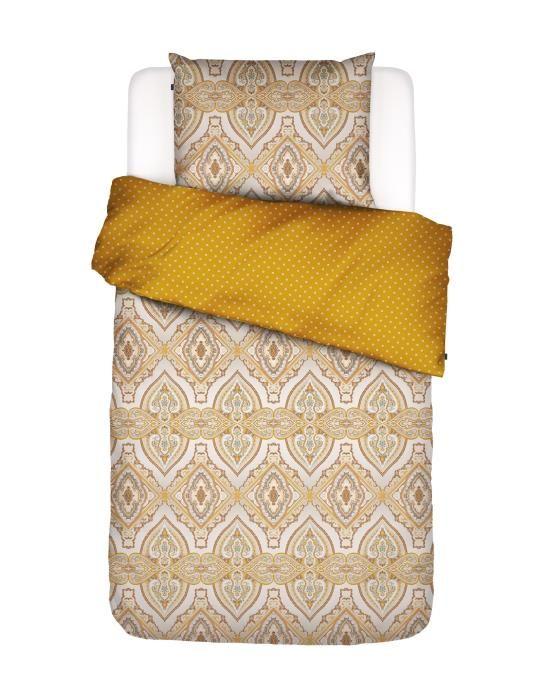 Essenza Penelope Mustard Duvet cover 135 x 200