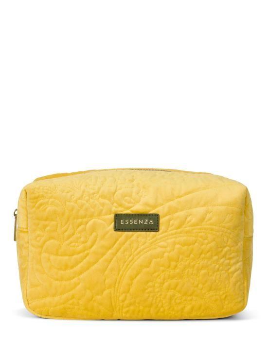 Essenza Pepper Velvet Mustard Make-up Bag Large