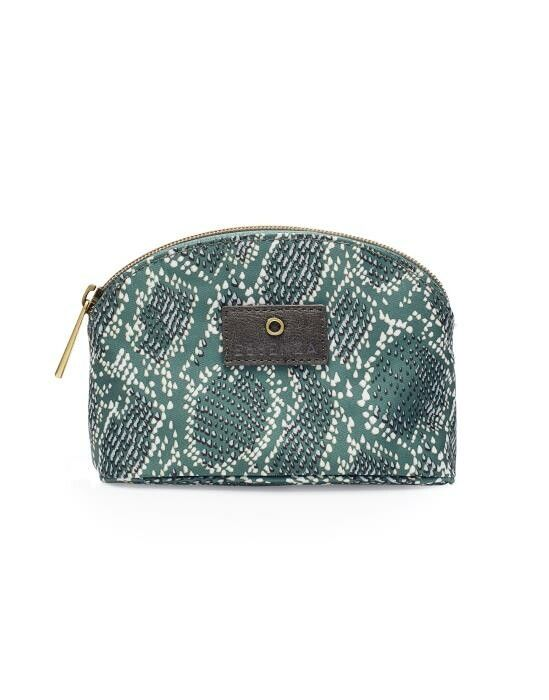 Essenza Phoeby Solan Green Pouch Extra Small