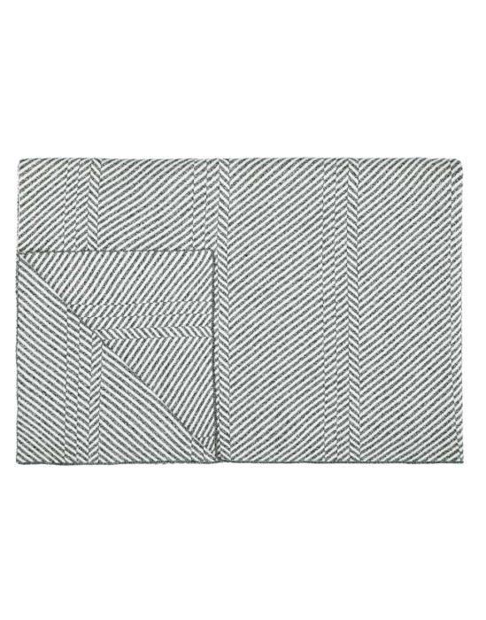 Marc O'Polo Rik Grey Plaid 130 x 170