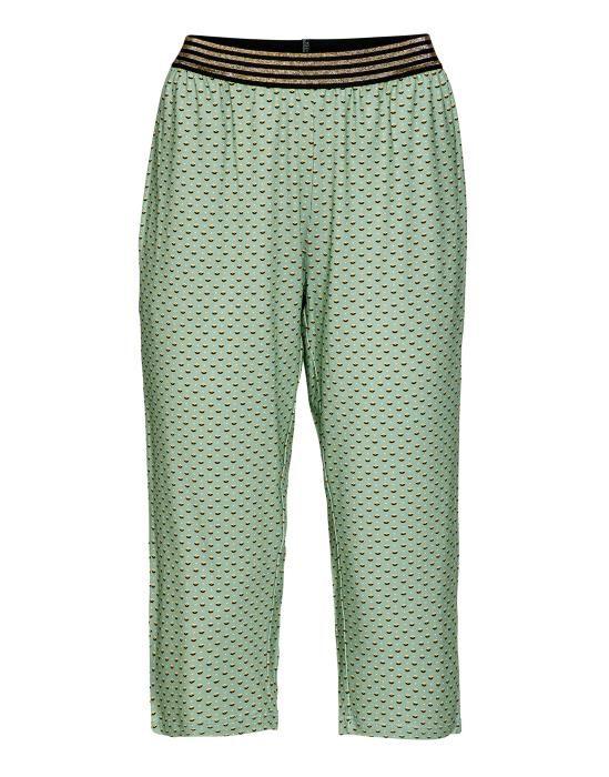 Essenza Rosie Mini Green Trousers 3/4 XS