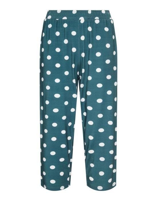 Essenza Rosie Dot Denim Trousers 3/4 XS