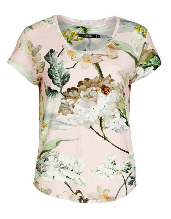 Essenza Saona Rosalee Rose Top Short Sleeve XS